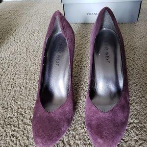 Franco sarto purple heels